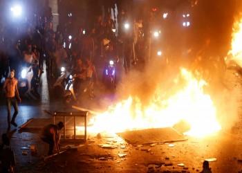 مساء لبناني متوتر.. مواجهات في طرابلس وبيروت