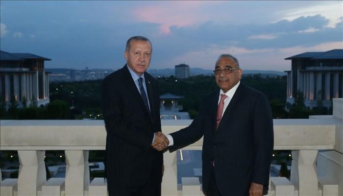 أردوغان يهاتف عبدالمهدي ويؤكد دعمه لوحدة واستقرار العراق