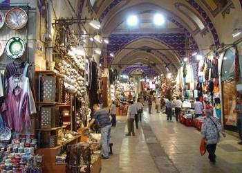 عرض متجر في سوق إسطنبول المغطى بمليوني دولار