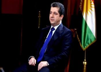رئيس وزراء كردستان العراق يزور تركيا لبحث العلاقات الثنائية