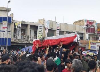 مواكب تشييع ضخمة وغضب عشائري يتصاعد جنوبي العراق (فيديو)