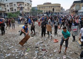 مسؤول عراقي يقر باستخدام الرصاص الحي لقمع المتظاهرين