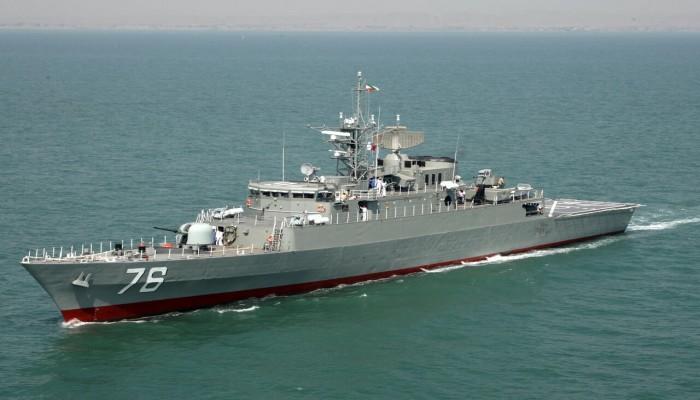مدمرة جديدة تنضم للبحرية الإيرانية في فبراير
