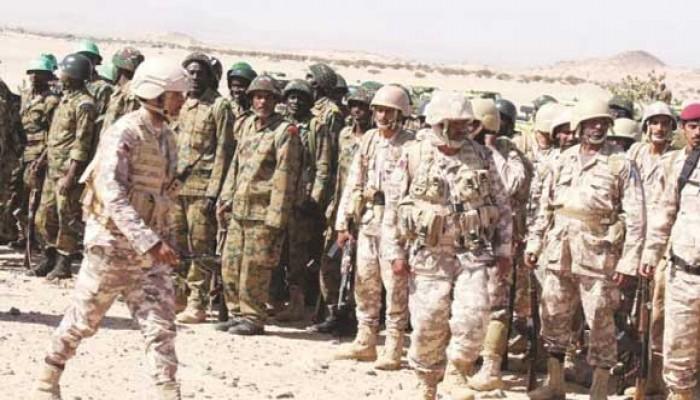 قطر والسودان يجريان تمرينا عسكريا مشتركا بولاية البحر الأحمر