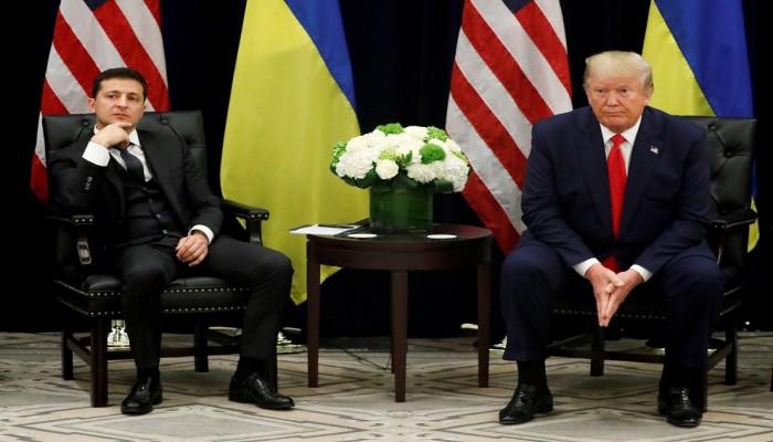 الرئيس الأوكراني ينفي حصول أية مقايضة مع ترامب