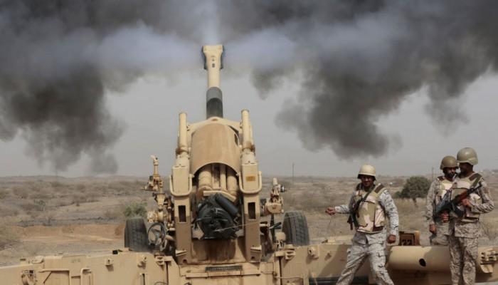 تعزيزات عسكرية سعودية تصل إلى معسكر التحالف في عدن