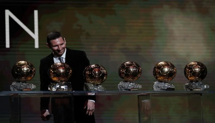 للمرة السادسة.. ميسي يحصد الكرة الذهبية كأفضل لاعب بالعالم