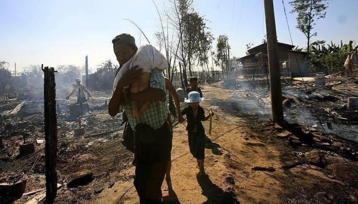 ميانمار.. أقلية كارين تتضامن مع الروهينجا