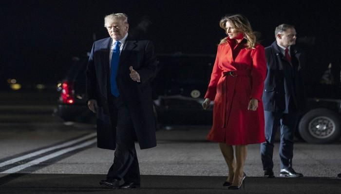 ترامب يحرج ميلانيا قبيل قمة الناتو