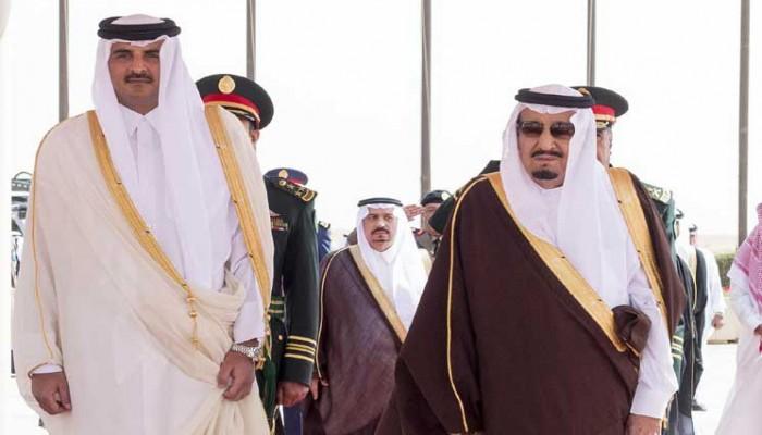 أمير قطر يتلقى دعوة من ملك السعودية لحضور القمة الخليجية