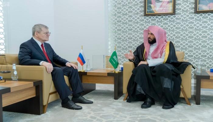 السعودية وروسيا تبحثان التعاون في مكافحة الإرهاب والفساد