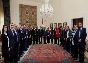 عون يؤكد العمل على إيجاد الحلول المناسبة للأزمة الراهنة