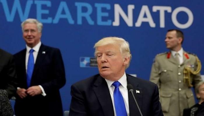 """ترامب ينتقد حلفاء أوروبيين قبيل قمة  """"الناتو"""""""