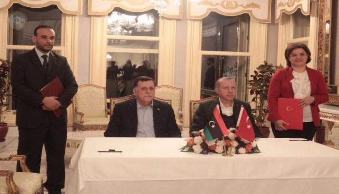 مصر: اتفاق أردوغان والسراج يعيق الحل السياسي للأزمة الليبية