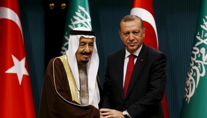 أردوغان يعزي الملك سلمان في وفاة الأمير متعب