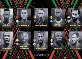 العرب يحتلون 5 مراكز ضمن قائمة أفضل لاعبي أفريقيا