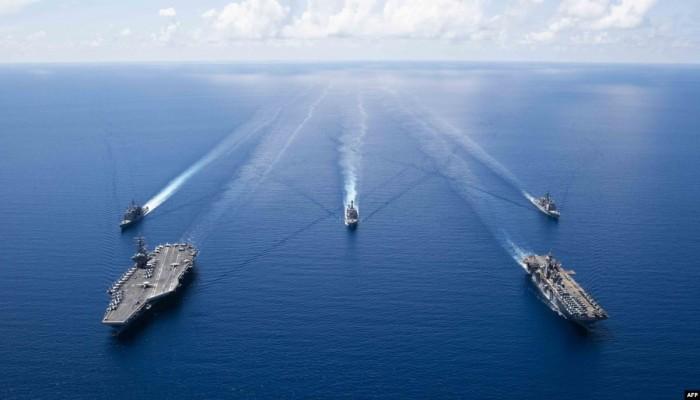 تركيا تغلق منطقة بحرية موازية لجزر يونانية