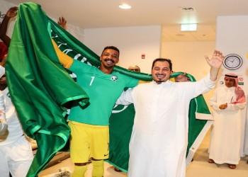 رئيس الاتحاد السعودي لكرة القدم يشكر القطريين