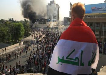 مقتل 10 متظاهرين عراقيين في إطلاق نار وسط بغداد