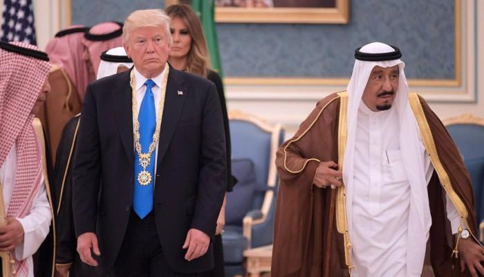 الملك سلمان لترامب: مرتكب هجوم فلوريدا لا يمثل السعوديين