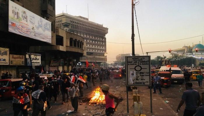 ارتفاع قتلى إطلاق النار على متظاهرين وسط بغداد إلى 21