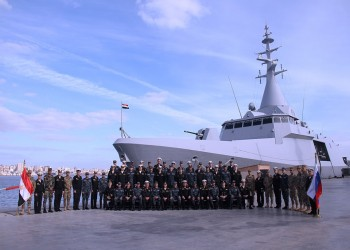 مصر وروسيا تختتمان أحد أكبر التدريبات في البحر المتوسط
