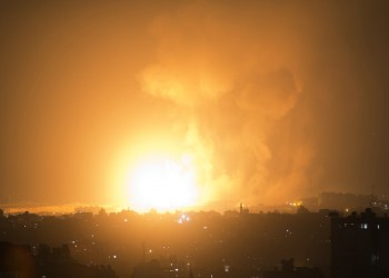 غزة.. غارات إسرائيلية متفرقة.. والاحتلال: استهدفنا مواقع لحماس