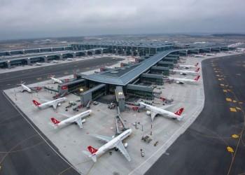 96 مليون مسافر عبر مطارات إسطنبول في 11 شهرا