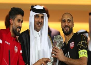 أمير قطر: سعدنا بمشاركة الأشقاء في خليجي 24 وهنيئا للبحرين الفوز