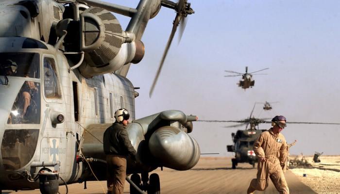 قيادة العمليات المشتركة تنفي دخول آليات أمريكية إلى العراق