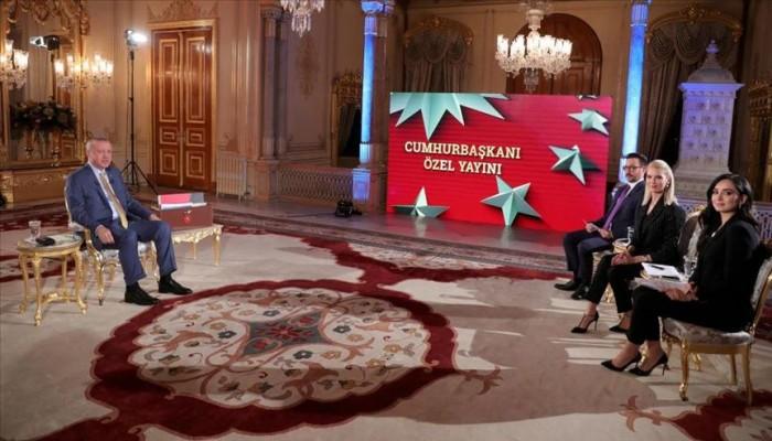 أردوغان: لا يمكن إقامة خط لنقل الغاز بالمتوسط دون موافقة تركيا