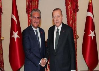 أردوغان يلتقي وزير خارجية باكستان