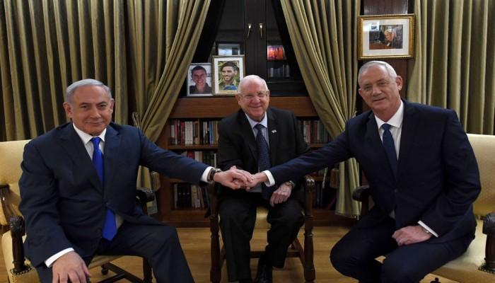 اتفاق بين نتنياهو وجانتيس على موعد الانتخابات الجديدة