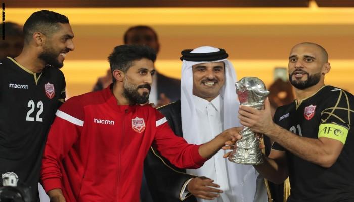 تفاصيل مكالمة بين شقيق أمير قطر وشيخ بحريني بعد الفوز بخليجي24