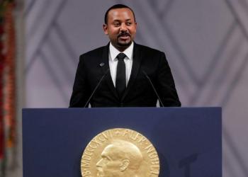 آبي أحمد يحذر من خطر القوى الكبرى بعد تسلمه جائزة نوبل