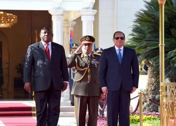 أمام رئيس جنوب أفريقيا.. السيسي يعلن دعمه لحفتر في ليبيا