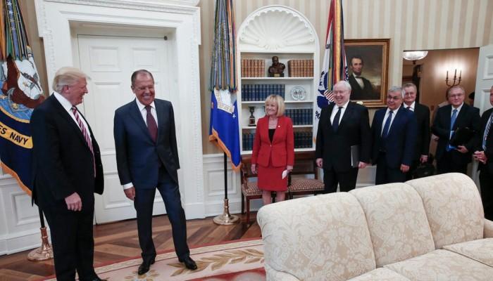 ترامب يحذر لافروف من تدخل روسي بانتخابات أمريكا