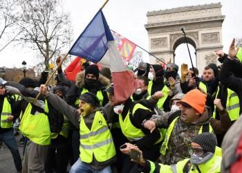 واقع الاحتجاجات الاجتماعية في فرنسا