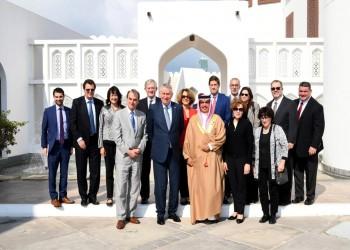 مسؤولون بحرينيون يبحثون مع قيادات إيباك علاقات التعاون
