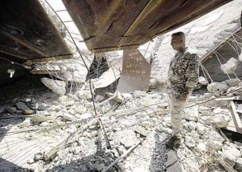 مقتل 7 من الحشد الشعبي في تفجير انتحاري بالعراق