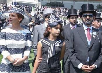 الأميرة هيا تخشى أن يزوج بن راشد ابنتهما قسرا