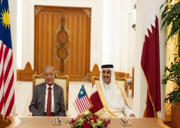 لجنة عليا بين قطر وماليزيا عقب مباحثات بين تميم ومهاتير