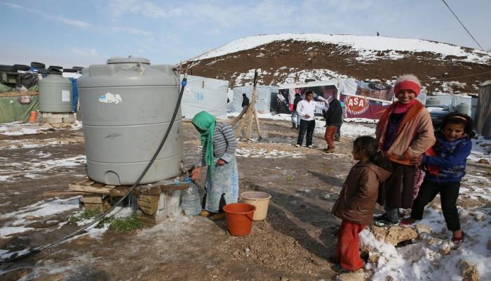 الأمم المتحدة تطلب 25 مليون دولار لمساعدة السوريين بالشتاء