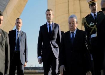 ماكرون يدعو لبدء حوار بين تبون والمتظاهرين في الجزائر