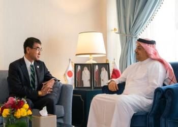 قطر واليابان تبحثان سبل تعزيز العلاقات العسكرية