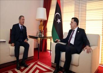 وزيرا خارجية ودفاع تركيا يجريان مباحثات مع السراج بالدوحة