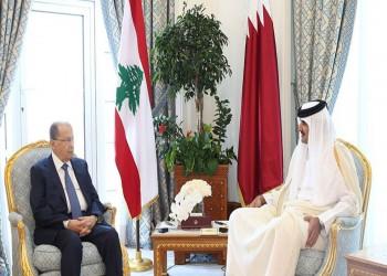 ميشال عون يدعو أمير قطر لزيارة لبنان
