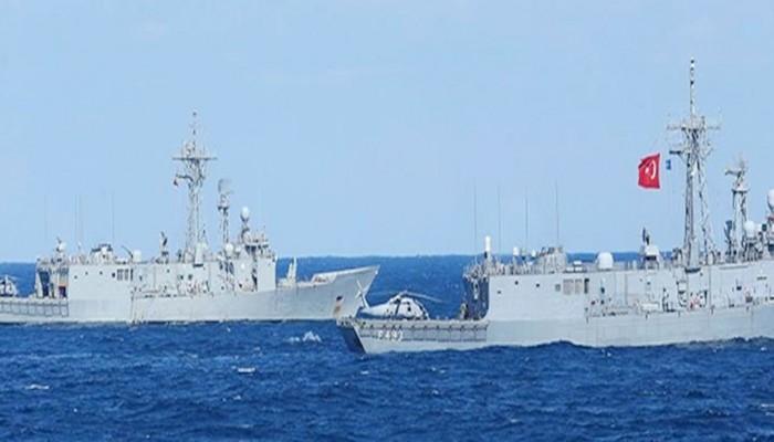 البحرية التركية تعترض سفينة أبحاث إسرائيلية بشرق المتوسط