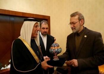 رئيسا البرلمان القطري والإيراني يبحثان تنمية العلاقات بين البلدين