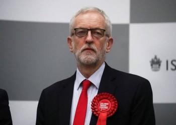كوربين يعتذر لأنصاره عن الهزيمة في الانتخابات البريطانية